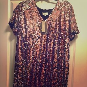 Great for night out! Sequin Dress - Jcrew